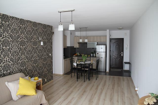 pokoj, kuchyně, obývák