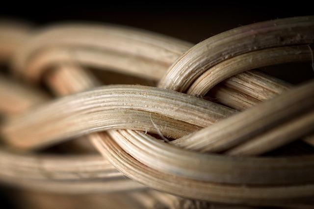pletená ošatka