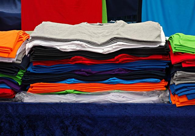 trička barevná