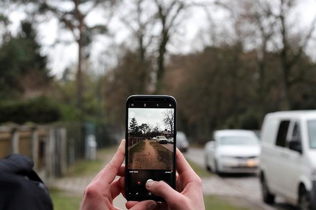 focení aut mobilem